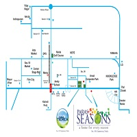 Paras Seasons Location Map